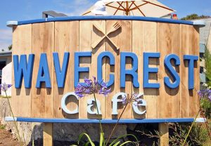 Wavecrest café lizard point get in touch contact us